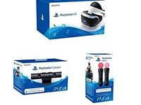 PlayStation VR, Camera and move motion controllers