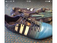 Adidas nitro charge size 9.5 football boots