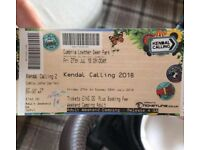 Kendal calling x1 adult weekend & camping ticket make me an offer