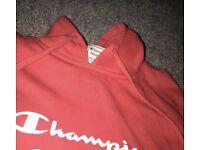Red champion jumper