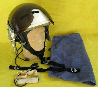 1984 Original Z-3 Helmet+Communic. Leather Helmet+Mic+Chin Strap+Bag/USSR-Russia