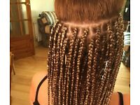 Braids and weave extensions-Mobile