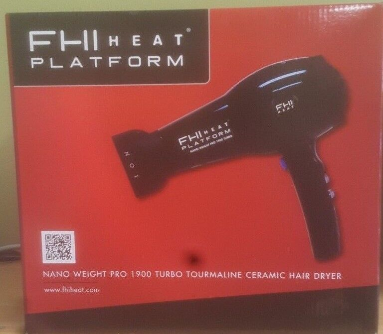 FHI HEAT Platform Nano Weight Pro 1900 Turbo Tourmaline Cera