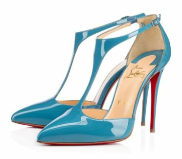 Christian Louboutin Heels J String Patent Leather 100mm