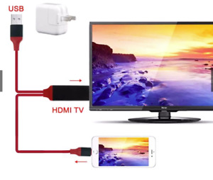 Apple Lighting to HDMI adapter, for HDTV and HDMI monitors