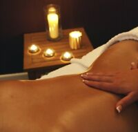 Warm up with a hot oil massage by RMT :)