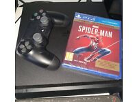 Sony PS4 500GB Console only used for 1 month! Comes with game, controller and all cables