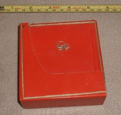1950's Retro Orange Kitchen Diet Scale Grams Or Ounces Flip Top Plastic Works