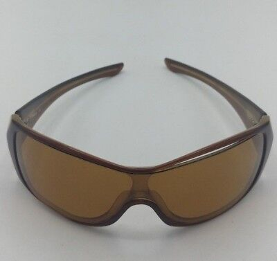 Oakley Riddle Brown wrap around Sunglasses with Brown Lenses (Oakley Wrap Around Sunglasses)