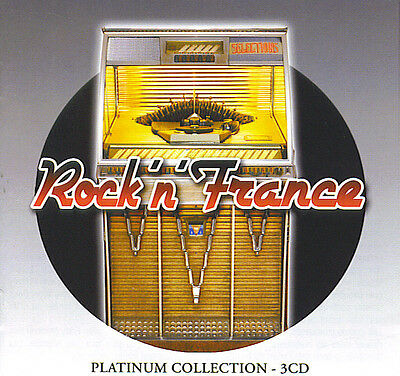 Rock 'n' France : Platinum collection (3 CD)