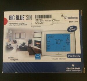 White Rodgers - Big Blue single 1/1 thermostat