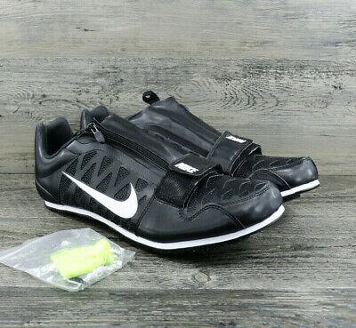 93d99abf968f Nike Zoom Long Jump 4 Track Spikes Black White 415339-017 Mens 7.5