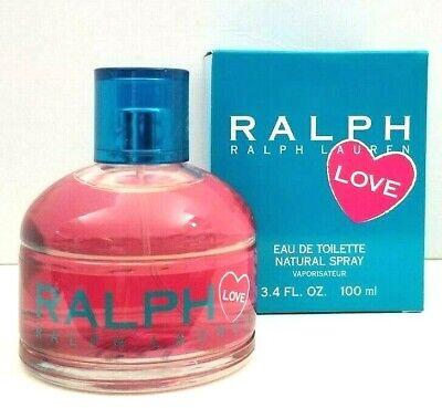 RALPH LOVE by Ralph Lauren Eau de toilette 3.4 oz NEW IN BOX