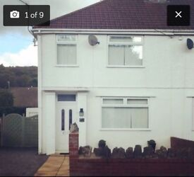 3 bedroom semi detached house to rent Capel Road Clydach