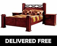 Brand New QUEEN Size Timber Bed Frame - DELIVERED FREE New Farm Brisbane North East Preview