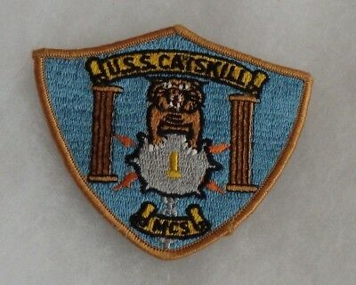 Us Navy Uss Catskill Mcs  1 Minesweeper Patch