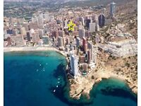 BENIDORM - amazing Penthouse for rent with private terrace 60m2