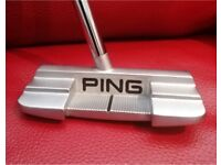 Ping Sigma 2 Kushin c putter, adjustable 32-36 inches, great condition