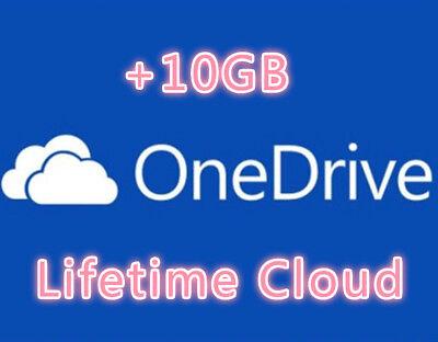 OneDrive +10GB Referral Bonus Permanent Space Lifetime space