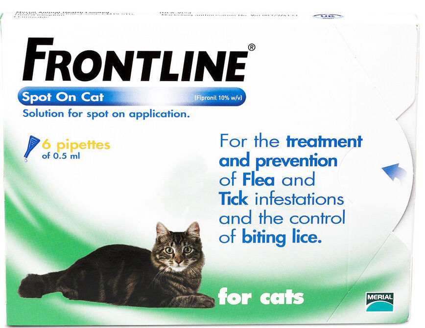 Can U Use Frontline For Cats On Dogs