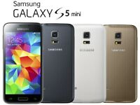 Samsung Galaxy S5 Mini unlocked any network ***good condition***100% original phone***07587588484***