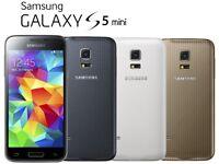 Samsung Galaxy S5 Mini unlocked any network ***good condition***100% original phone***07587588484***