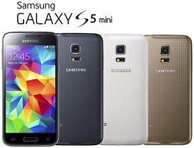 Samsung Galaxy s5 mini unlocked any network ***mint condition***100% original phone not refurbished*