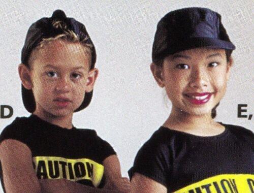 NEW/box 1 DOZEN COSTUME Satinette Black Baseball Caps ch/adult unisex Dance