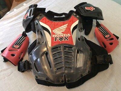 Honda - Fox Motocross Body Armour, Adult, One Size, Adjustable