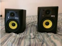 KRK Rokit RP5 G2 studio monitor speakers (pair)