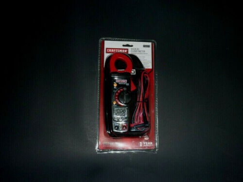 Craftsman 400a AC Clamp Meter Cat Iii-600v 3482372