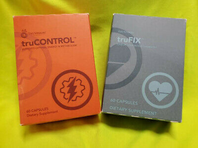 TruVision Health TruFix & TruControl Weight Loss 30 Day Combo FAST-FREE SHIPPING
