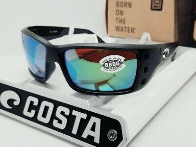 580G - COSTA DEL MAR black/green mirror PERMIT POLARIZED sunglasses! NEW IN (Costa Del Mar Permit Sunglasses)