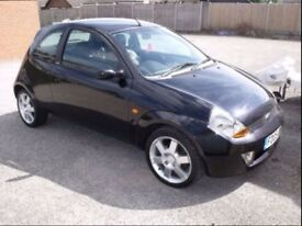2005 Black Ford KA 1.6 Sport SE 3dr