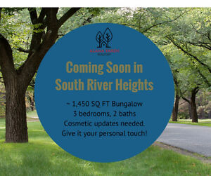 COMING TO MARKET: SPACIOUS SOUTH RIVER HEIGHTS BUNGALOW