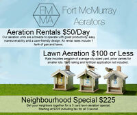 Lawn Aeration Rentals - $50/Day
