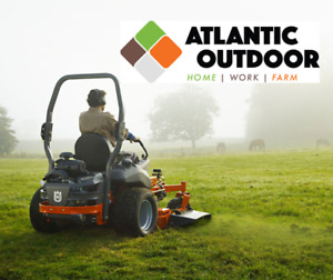 Zero-Turns from Husqvarna and Ariens at Atlantic Outdoor