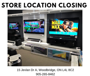 Store Location Closing Sale - TV & Home Appliances