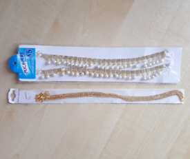 Anklets costume jewellery