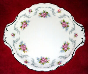 "Royal Albert ""Tranquillity"" Cake Plate"