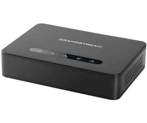 New Unlocked Grandstream HT812 VoIP Phone Adapter ATA.  Package