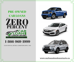 USED CAR FINANCING FROM 0% - CAR LOANS LONDON ONT.