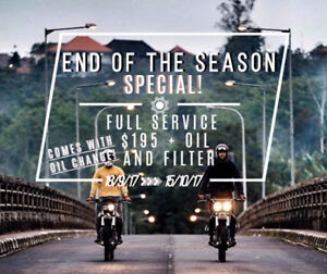 END OF THE SEASON SERVICE!