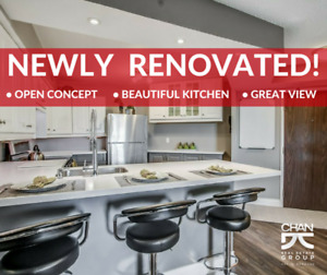 Beautifully Renovated 2+1BR condo with great amenities!
