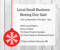 Small Business Boxing Day Sale