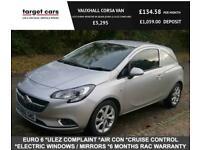 2016 Vauxhall Corsavan 1.3 CDTI 95BHP SPORTIVE VAN SILVER EURO 6 ULEZ COMPLAINT