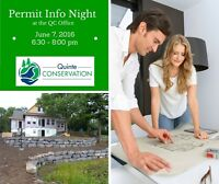 Permits and Regulations Information Night at Quinte Conservation