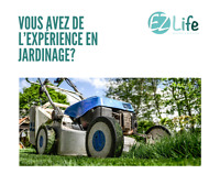 Cherche Jardiniers - Etudiants, professionnel, autonome