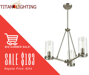 SIMPLY THE VERY BEST PRICES ON NEW CHANDELIERS & PENDANTS!