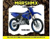 Yamaha YZ125 2021 Model Full Uk Machine 6Mths Warranty-Nil Dep Finance 146/Mth